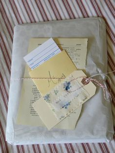great etsy packaging #thankyou
