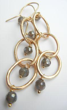Colette Labordorite Earrings- NG4130