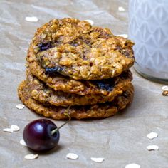 #superbowl Peanut Butter Oatmeal Cookies HealthyAperture.com