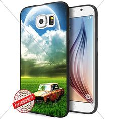 Old car on the prairie WADE8089 Samsung s6 Case Protection Black Rubber Cover Protector WADE CASE http://www.amazon.com/dp/B016SE4Q42/ref=cm_sw_r_pi_dp_dlLDwb1R8A36M