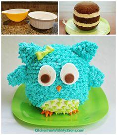 Ideas Products Owl Cake CakesCupcakes Pinterest Owl cakes