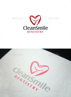 Clean Smile — Vector EPS #dental care #logo design • Available here → https://graphicriver.net/item/clean-smile/10249304?ref=pxcr