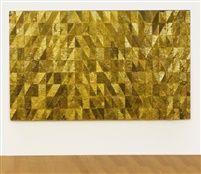 Mathias Goeritz, Mensaje 1983, perforated metal on wood.