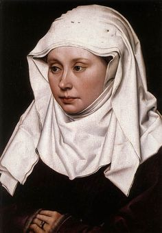 Portrait of a Woman by Robert Campin