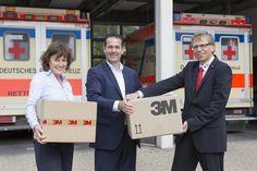 3M Mitarbeiter engagieren sich für Flüchtlinge in Neuss