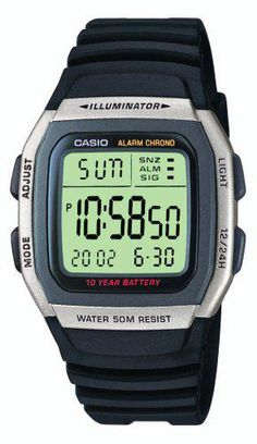 LOWEST EVER PRICE Casio W-96H-1AVES Mens Resin Digital Watch SAVE 63% NOW £8.49