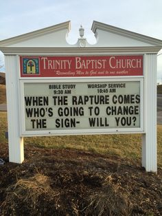 Trinity Baptist Church Christiansburg, Va Church Signs