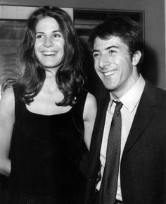 Dustin Hoffman plays Chuck Clark in Ishtar. In this photo from the 1960s, he's pictured with then-girlfriend (later wife), Anne Byrne.