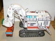 Terex RH400 Mining Excavator Free Construction Vehicle Paper Model Download