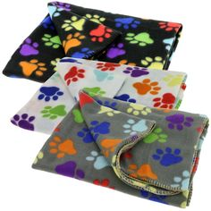 Give your pet somewhere warm of their own to cuddle up! This fleece pet blanket looks great on the floor or protecting your furniture surfaces and folds up for easy storage.