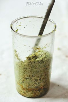 Pesto brokułowe » Jadłonomia · wegańskie przepisy nie tylko dla wegan Pesto, Dips, Recipies, Lunch, Homemade, Vegan, Tableware, Ethnic Recipes, Food