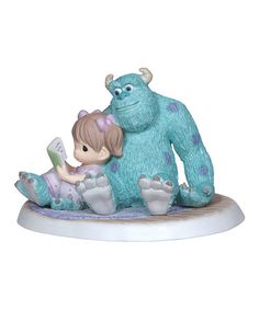 Look what I found on #zulily! Sully & Reading Girl Figurine by Disney Showcase Collection #zulilyfinds