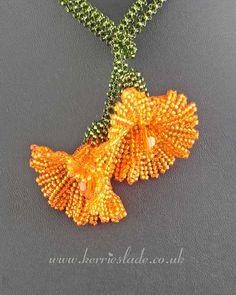Beadwoven jewelry by Kerrie Slade