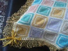 mantas em croche coloridas para bebe - Bing Imagens Blanket, Crocheted Afghans, Colouring In, Blankets, Cover, Comforters