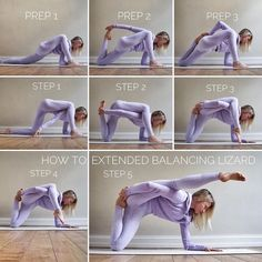 Having fun with this funky balancing pose. Wanna try it out? Start with some prep work: lizard, quad stretch, a core strengthening like the… Yoga Bewegungen, Yoga Moves, Yoga Flow, Yoga Meditation, Yoga Exercises, Yoga For Toning, Stretches, Pilates Poses, Yoga Inversions