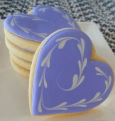 Heart Shortbread Cookies / The Best Blog Recipes #cookies #recipes #shortbread