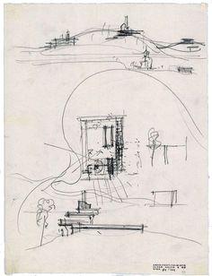 Alvar Aalto - Villa Mairea - early sketches