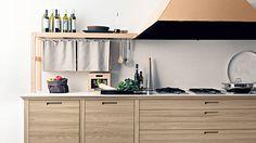 古代イタリアから伝わる職人技をふんだんに生かし、 モダンデザインを実現したキッチン。