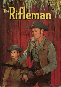The Rifleman - Chuck Connors & Johnny Crawford