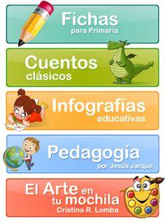 Fichas para niños de primaria. Fichas para Descargar e imprimir