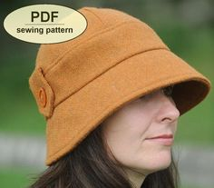 New Sewing pattern to make the Kettlebaston Cloche by charliesaunt, $8.00