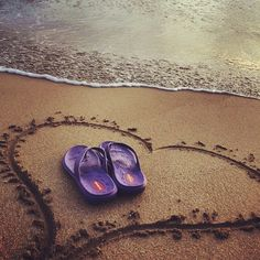"""""""I love wearing my Mauis in Maui!"""" Love this photo from our fans Jay and Penny M.  #Okabashi #FanPhotos #Maui #FlipFlops #Sandals #Shoes"""