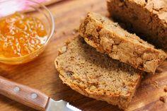 Anthony's Cinnamon & Walnut Zucchini Bread (gluten-free adaptation included)