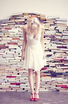 Or just every book you've ever read. | 47 Brilliant Tips To Getting An Amazing Senior Portrait