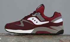Saucony Grid 9000 burgundy-white Saucony Grid 9000, Saucony Shoes, Pretty Boys, Sick, Burgundy, Footwear, Mens Fashion, My Style, Sneakers
