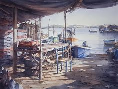 Christian Graniou WATERCOLOR