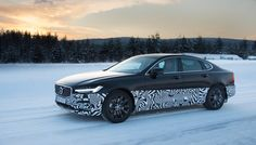 Volvo lets us drive a prototype on an icy track in Northern Sweden. This lets us think about reindeer and if you can really design a death-proof car. Drive A, First Drive, Volvo Models, Volvo S90, Death Proof, Arctic, Sweden, Nye, Reindeer