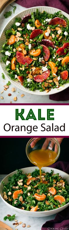 Kale Orange Salad - Cooking Classy