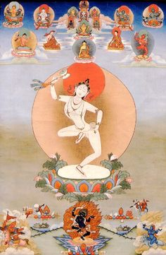 Machik Labdron Back in Los Angeles in the I had this exact beautiful poster of Lady Machig Labdron framed and on my shrine. I find this particular painting magical. Tsem Rinpoche Source by felixgilabertch poster Tibetan Art, Tibetan Buddhism, Buddhist Art, Thangka Painting, Buddha Painting, Gautama Buddha, Taoism, Beautiful Posters, Tara Goddess