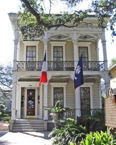 Garden District Double Gallery Homes in New Orleans Travel USA