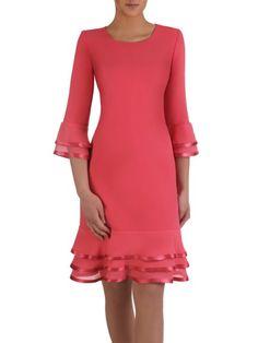 Modest Dresses, Casual Dresses, Fashion Dresses, Grey Evening Dresses, Summer Dresses, Classy Outfits, Chic Outfits, Long Plaid Skirt, Batik Dress