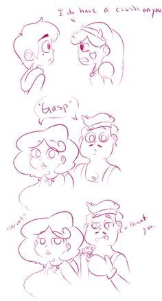 star butterfly and marco diaz | Tumblr<< Hizo trampa, el ya sabía que Star le gustaba Marco, ya Marco se lo habia dicho