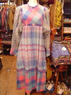 1970's  COTTON ONE-PIECE  MADE IN INDIA