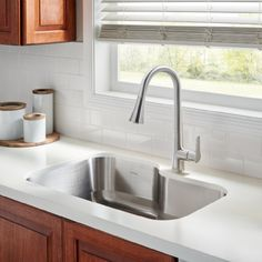 Raleigh Stainless Steel Kitchen Sink Kit by American Standard