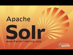 Apache Solr Online Training Course Tutorial With Examples - YouTube