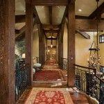 #TimberFrameTuesday  www.tetonheritagebuilders.com  Granite Ridge Timber Frame Hall
