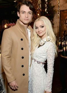Dove Cameron Dishes on Boyfriend Thomas Doherty Meeting Her Parents & her coming Christmas in Scotland for Thomas Doherty, Young Celebrities, Hollywood Celebrities, Celebs, Cameron Boyce, Celebrity Couples, Celebrity Style, Dove And Thomas, Dove Cameron Style