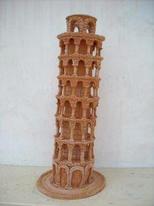 Pisa Tower terracotta   by Umberto De Mattia