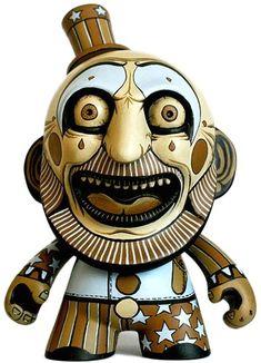 'Captain Spaulding' by Hugh Rose custom Kidrobot Munny.