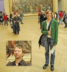 21 of the Funniest Celebrity Photobombs ((photographed: thom yorke of radiohead, winning this list))