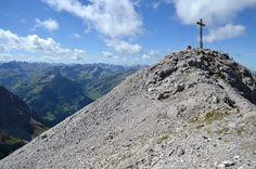 Lechtal - Hohes Licht Gipfelkreuz