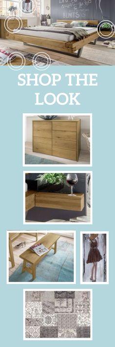 Shop The Look Moderne Schlafzimmereinrichtung Und Aussergewohnliches Schwebebett Betten Schlafzimmerideen Schlafzimmer