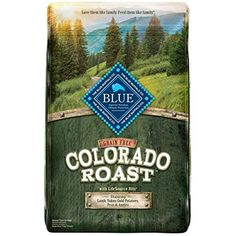 Blue Buffalo Blue Colorado Roast Natural Adult Dry Dog Food With Real Lamb Count), 22 Lb >>> More info could be found at the image url. (This is an affiliate link) Wild Bird Food, Wild Birds, Yukon Gold Potatoes, Types Of Dogs, Formulas, Dry Dog Food, Blue Life, Dog Supplies, Large Dogs