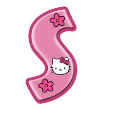 Oh my Alfabetos!: Alfabeto de Hello Kitty con letras grandes.
