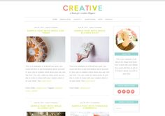 Creative | WordPress Theme for Crafters