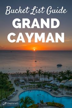 15 of the best things to do on the island of Grand Cayman in the Caribbean. Tips for getting off the resort and experiencing the best adventure activities that the island has to offer. | Blog by The Planet D: Canada's Adventure Travel